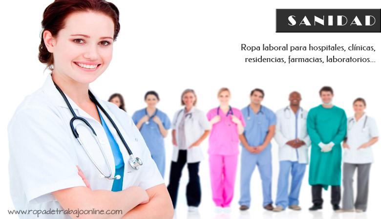 ropa de trabajo online, Sanidad